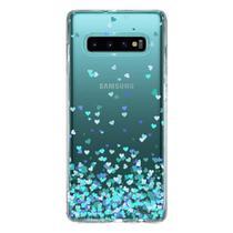 Capa Personalizada Samsung Galaxy S10 G973 - Corações - TP172 - Matecki