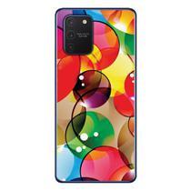 Capa Personalizada Samsung Galaxy S10 Lite G770 - Bolhas - AT98 - Matecki