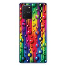 Capa Personalizada Samsung Galaxy S10 Lite G770 - Bolhas - TX18 - Matecki
