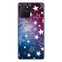 Capa Personalizada Samsung Galaxy S10 Lite G770 - Estrelas - ST02 - Matecki