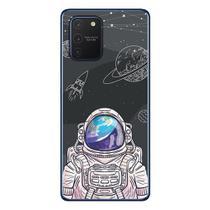 Capa Personalizada Samsung Galaxy S10 Lite G770 - Estrelas - ST04 - Matecki