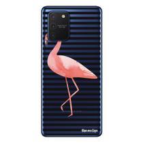 Capa Personalizada Samsung Galaxy S10 Lite G770 - Flamingos - TP317 - Matecki