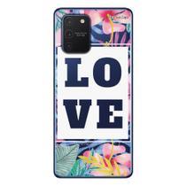 Capa Personalizada Samsung Galaxy S10 Lite G770 - Floral - FL22 - Matecki