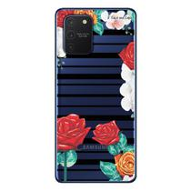 Capa Personalizada Samsung Galaxy S10 Lite G770 - Floral - FL33 - Matecki