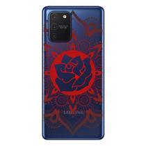 Capa Personalizada Samsung Galaxy S10 Lite G770 - Mandala Floral - TP258 - Matecki