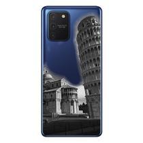 Capa Personalizada Samsung Galaxy S10 Lite G770 - Torre Pizza - MC11 - Matecki