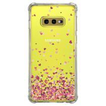 Capa Personalizada Samsung Galaxy S10e G970 - Corações - TP48 - Matecki
