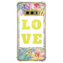 Capa Personalizada Samsung Galaxy S10e G970 - Floral - FL22 - Matecki