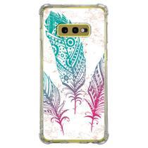 Capa Personalizada Samsung Galaxy S10e G970 - Penas - AT08 - Matecki