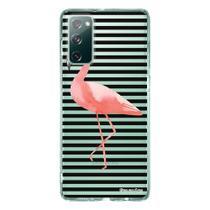 Capa Personalizada Samsung Galaxy S20 FE - Flamingos - TP317 - Matecki