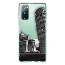 Capa Personalizada Samsung Galaxy S20 FE - Torre Pizza - MC11 - Matecki