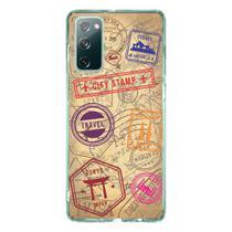Capa Personalizada Samsung Galaxy S20 FE - Travel Cards - MC04 - Matecki