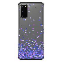 Capa Personalizada Samsung Galaxy S20 G980 - Corações - TP170 - Matecki