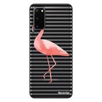 Capa Personalizada Samsung Galaxy S20 G980 - Flamingos - TP317 - Matecki