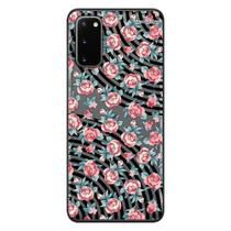 Capa Personalizada Samsung Galaxy S20 G980 - Floral - FL28 - Matecki