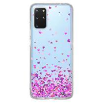 Capa Personalizada Samsung Galaxy S20 Plus G985 - Corações - TP167 - Matecki