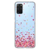 Capa Personalizada Samsung Galaxy S20 Plus G985 - Corações - TP48 - Matecki