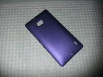 Capa Plastica Camurçada Nokia Lumia 930 - Roxa - Nova -
