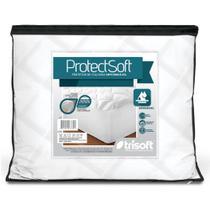 Capa Protetor De Colchão Solteiro Impermeável Protect Soft Trisoft -
