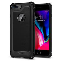 Capa Protetora Anti Impacto Spigen Rugged Armor Extra para Apple iPhone 7 Plus - iPhone 8 Plus - Preto