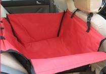 Capa protetora caixa para banco traseiro vermelha - King Of Pets