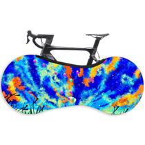 Capa Protetora Cobrir Rodas Bicicleta Bike Estampada Indoor Blue Sky - GaleraDaBike
