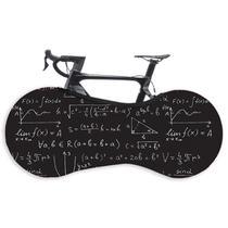 Capa Protetora Cobrir Rodas Bicicleta Bike Estampada Indoor Einsten - GaleraDaBike