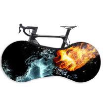 Capa Protetora Cobrir Rodas Bicicleta Bike Estampadas Indoor - GaleraDaBike