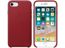 Capa Protetora Couro para iPhone 7 e iPhone 8 - Apple Product (RED) MQHA2ZM/A