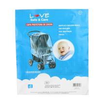 Capa Protetora De Chuva Para Carrinho De Bebê Love -
