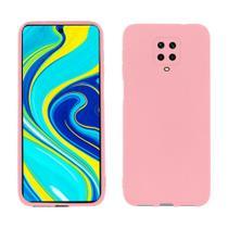 Capa protetora de silicone smartphone xiaomi redmi note 9s/pro -