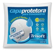 Capa Protetora De Travesseiro Impermeabilizada-100% Algodão - Trisoft