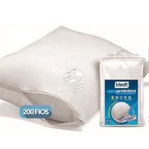 Capa Protetora de Travesseiro Impermeável Percal 200 Fios - Trisoft