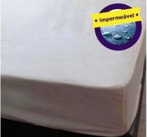 Capa Protetora Impermeável de Colchão Casal Com Zíper - Nilce