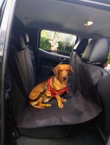 Capa protetora para banco carro kit peitoral+cinto segurança - PET UNION ACESSÓRIOS