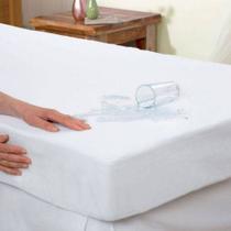 Capa protetora para colchão impermeável casal - NURA