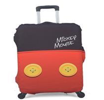 Capa Protetora Para Mala De Viagem Mickey - Tamanho M - CP00005MY - Disney