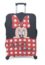 Capa Protetora Para Mala De Viagem Minnie - Tamanho M - CP00006MI - Disney