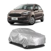 Capa protetora poeira chuva sol cobrir carro ford ka hatch forro parcial impermeável - Zc