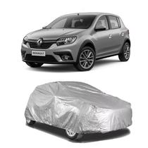 Capa protetora poeira chuva sol cobrir carro renault sandero forro parcial impermeável - Zc