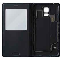 Capa protetora S view preta Galaxy S5 MINI Samsung -