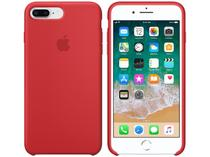 Capa Protetora Silicone para iPhone 7 Plus e  - iPhone 8 Plus Apple Product (RED) MQH12ZM/A