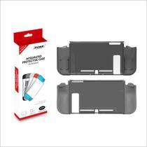 Capa Protetora Silicone Tpu Case Anti Risco Impermeável Para Nintendo Switch Dobe Tns-1875 Preto -
