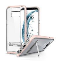 Capa Protetora Spigen Crystal Hybrid para Samsung Galaxy S8 5.8 - Transparente / Rosa -