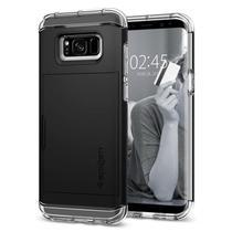 Capa Protetora Spigen Crystal Wallet para Samsung Galaxy S8 5.8 - Clear / Black -