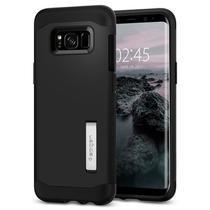 "Capa Protetora Spigen Slim Armor para Samsung Galaxy S8 Plus 6.2"" - Preto -"