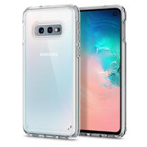 """Capa Protetora Spigen Ultra Hybrid para Samsung Galaxy S10e 5.8"""" - Transparente -"""