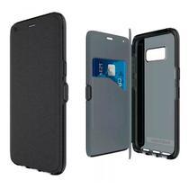 Capa Protetora Tech21 Evo Wallet para Samsung Galaxy S8+ Plus 6.2 - Preto -
