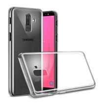 Capa Protetora Transparente + Película De Gel Para Celular Samsung Galaxy J8 2018 - Maston