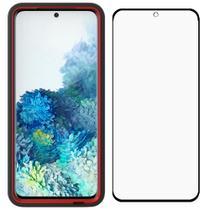 Capa Protetora Y-Cover Xtream Transparente Preta Samsung Galaxy S20 Com Película Protetora - Yell Mobile